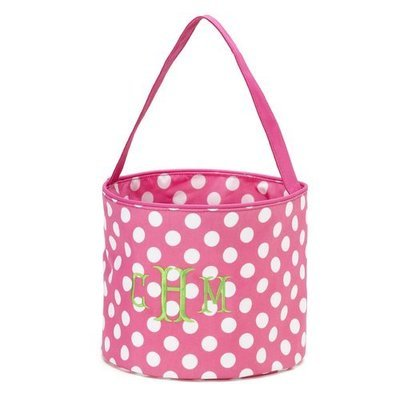 Pink Dot Easter Bucket