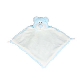 Light Blue Bear Blankie