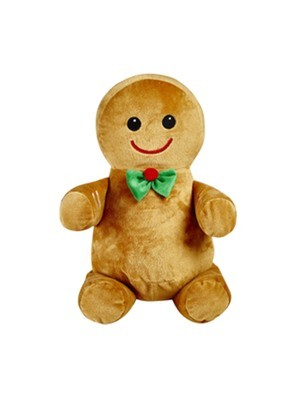 Gingerbread Man (bow tie) - Holiday