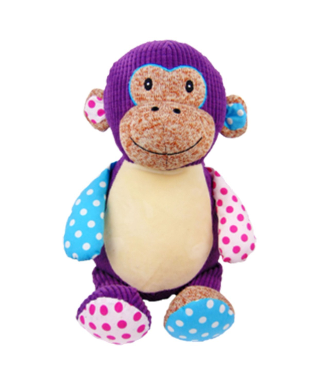 Harlequin Monkey (Purple)