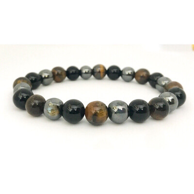 Men's Multi Gemstone Bracelet