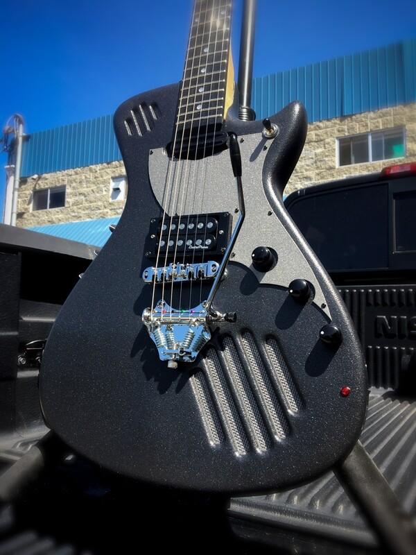 GuitarmaDillo™  Self-Amplified Guitar