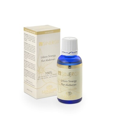Udara synergie (30 ml) en flat abdomen massage olie (125 ml)