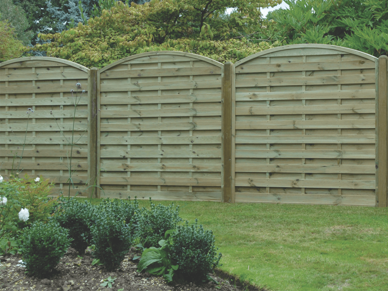 ARCHED HORIZONTAL PANELS