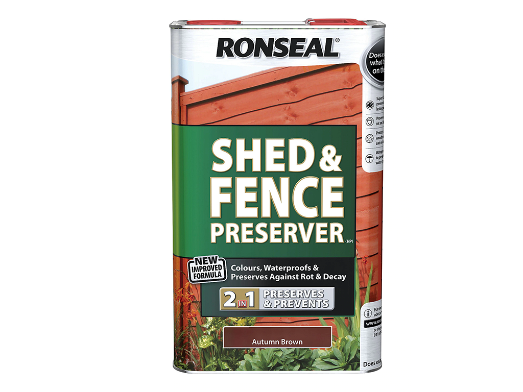SHED & FENCE PRESERVER