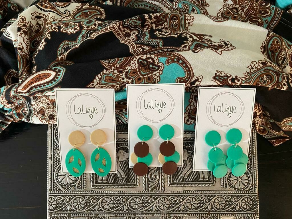 EARRINGS: The JACKY Collection: I am NEW