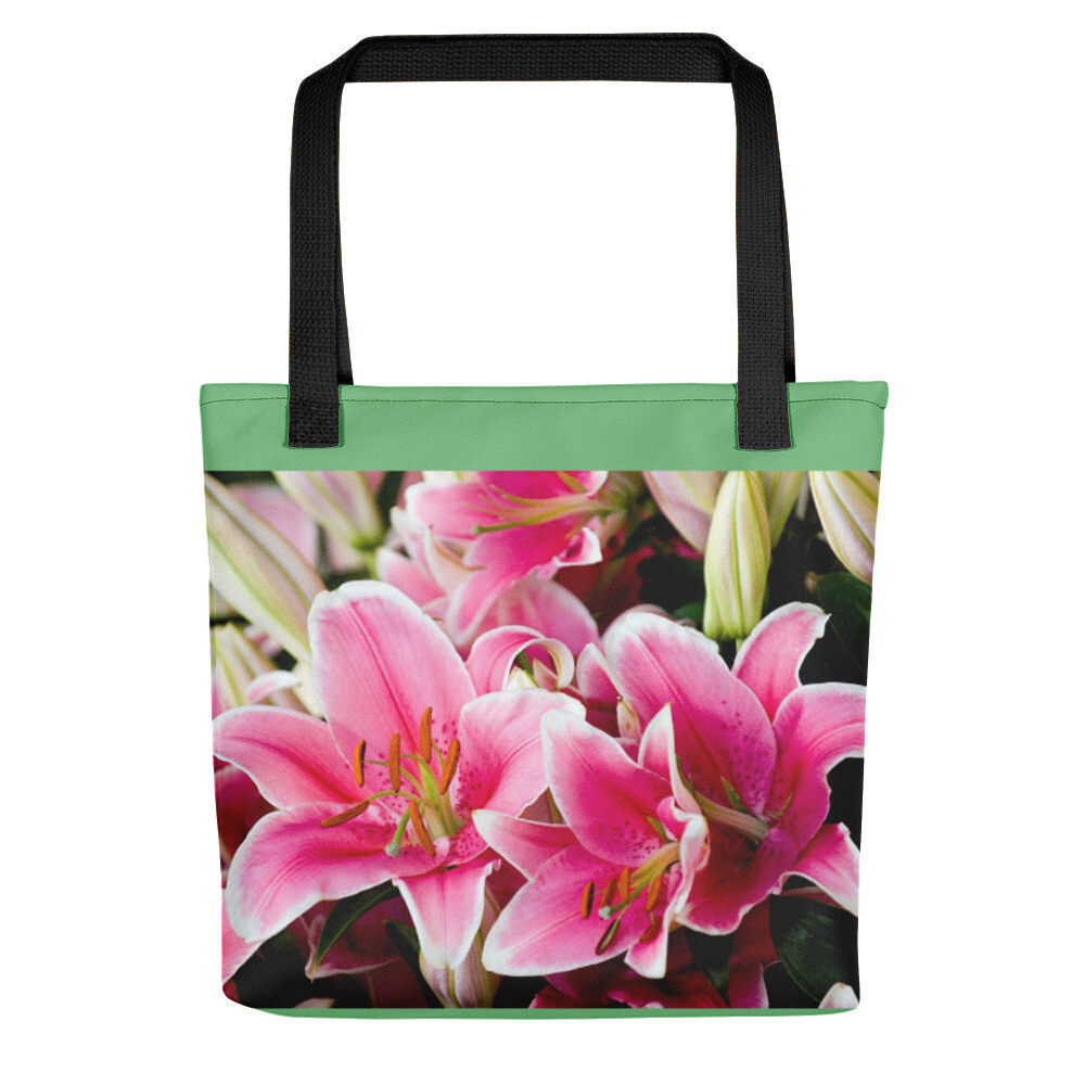 Pink Lily Easter Bag