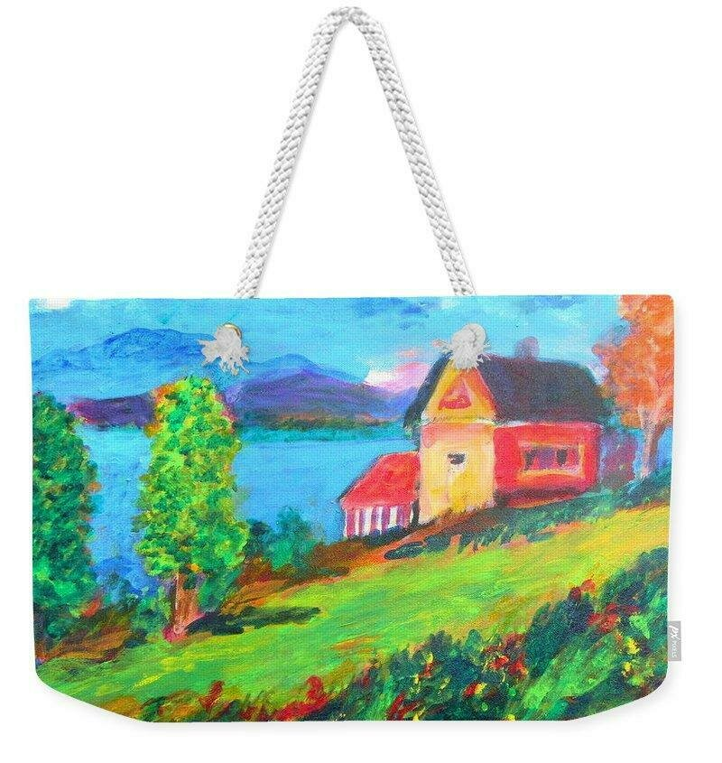 Reservoir South of Roxbury Roxb - Weekender Tote Bag