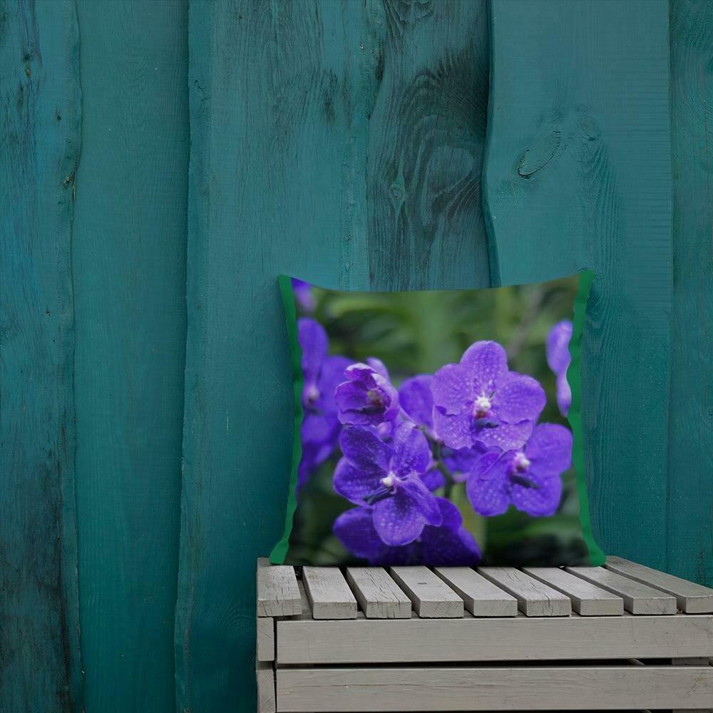 Windsor-Bush Violets Pillow