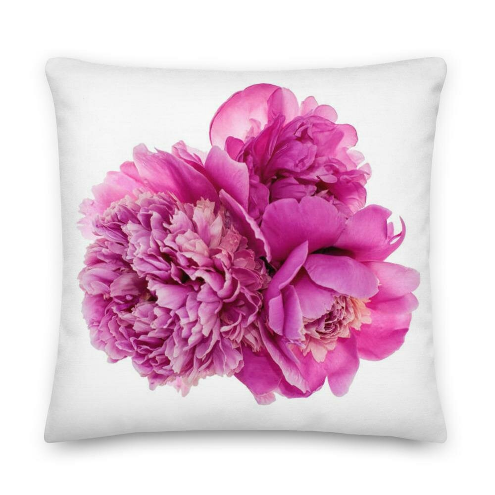 Peony Romance Pillow