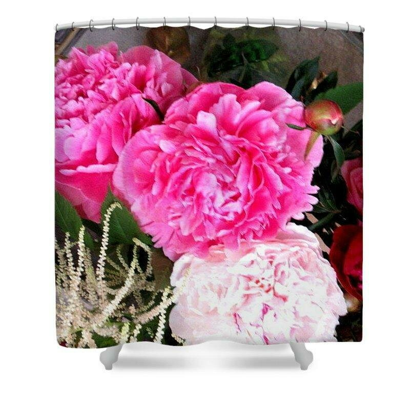 Peony Fragrance - Shower Curtain
