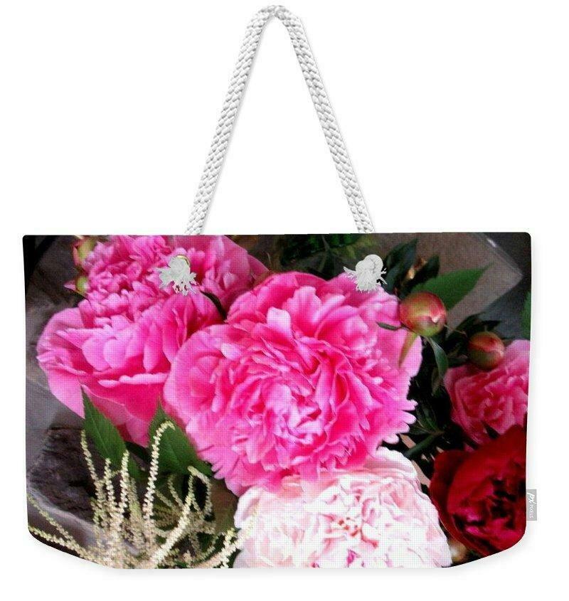 Peony Fragrance - Weekender Tote Bag