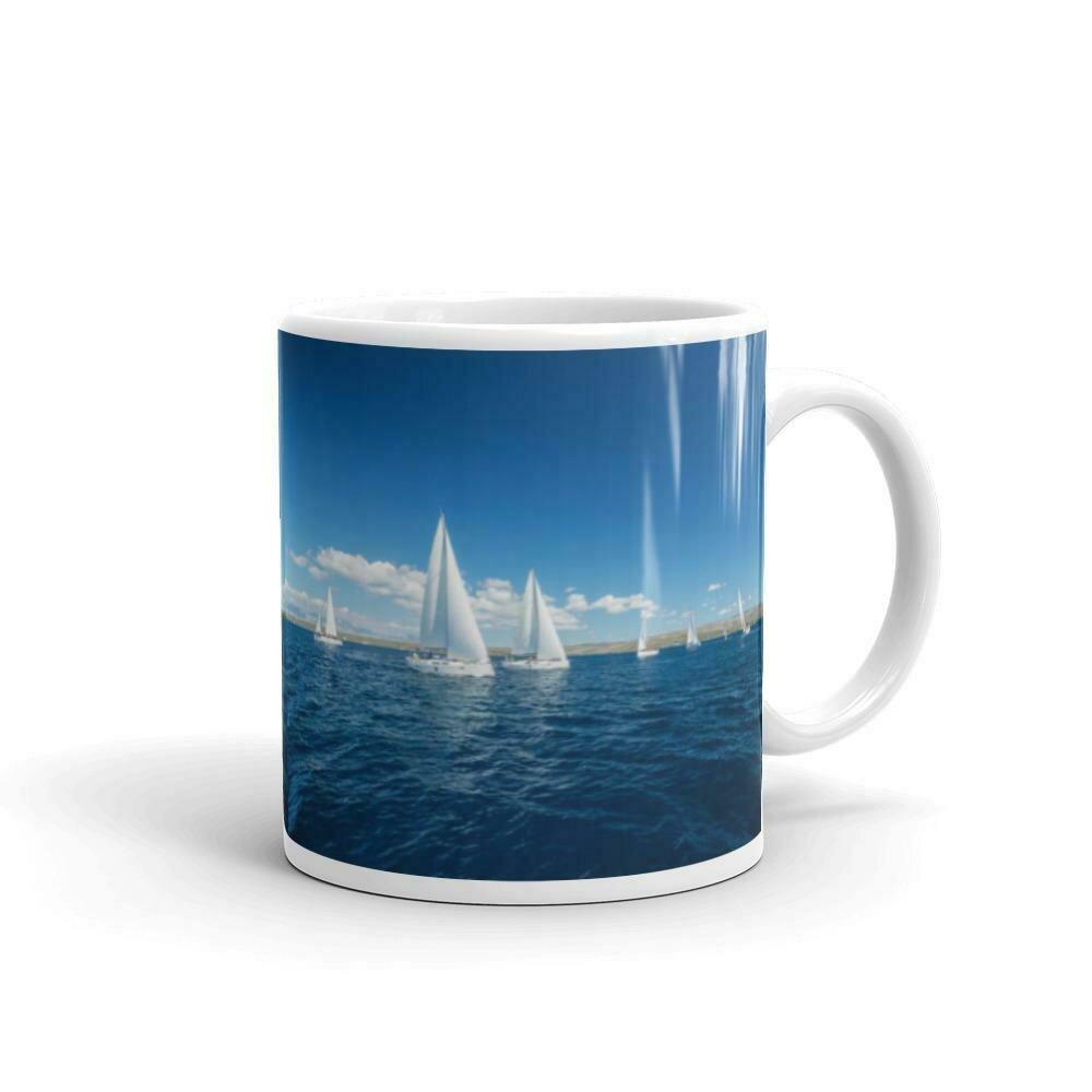 Sailing the Riviera Mug