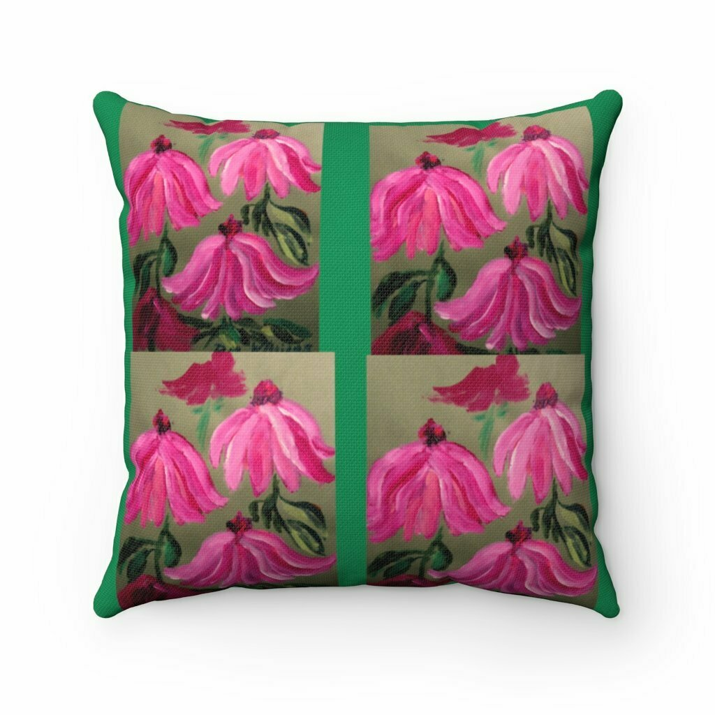 Passion Echinacea Pillow