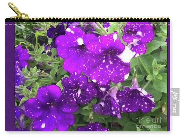 Periwinkle Petals - Carry-All Pouch