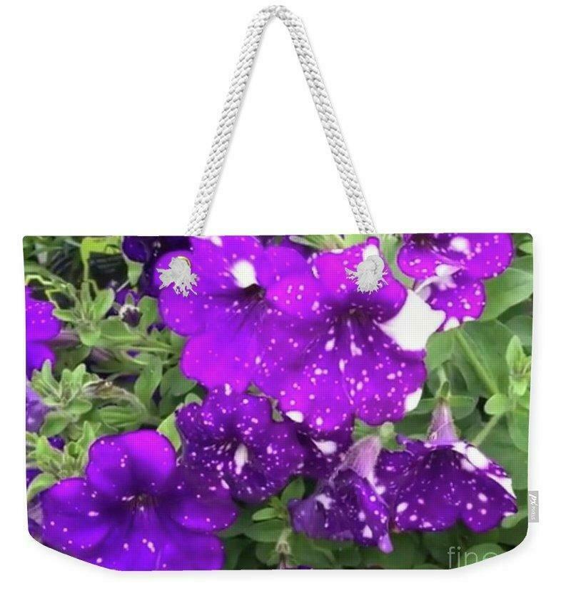 Periwinkle Petals - Weekender Tote Bag