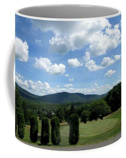 Stamford Golf 18th Green  - Mug