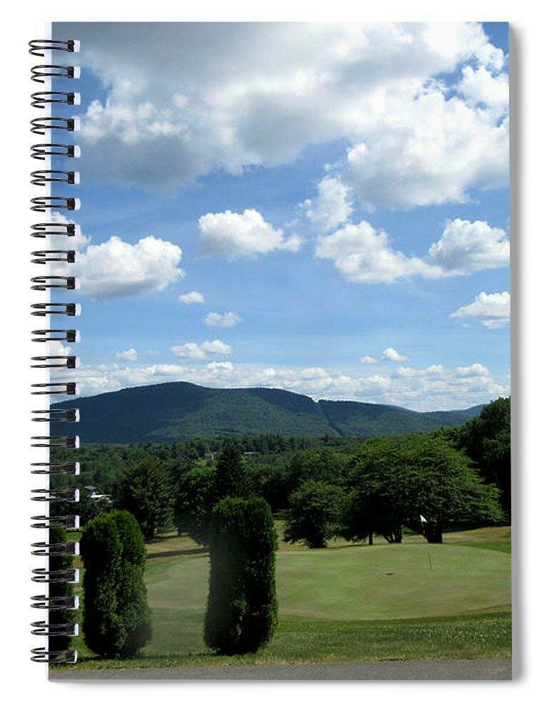 Stamford Golf 18th Green  - Spiral Notebook