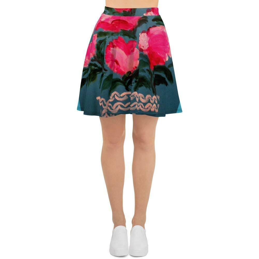 Wicker garden skirt