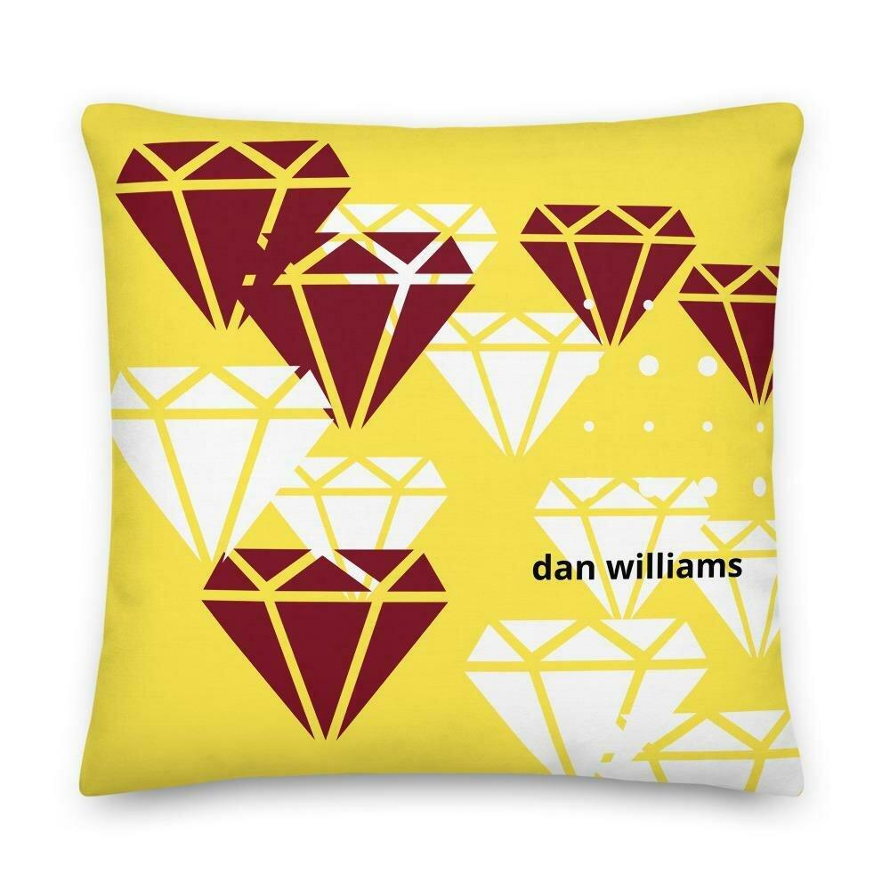 Balloon Abstract Salon Pillow