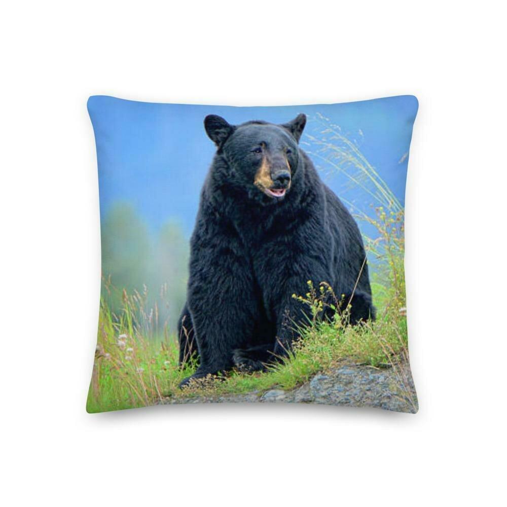 Black Bear Premium Pillow