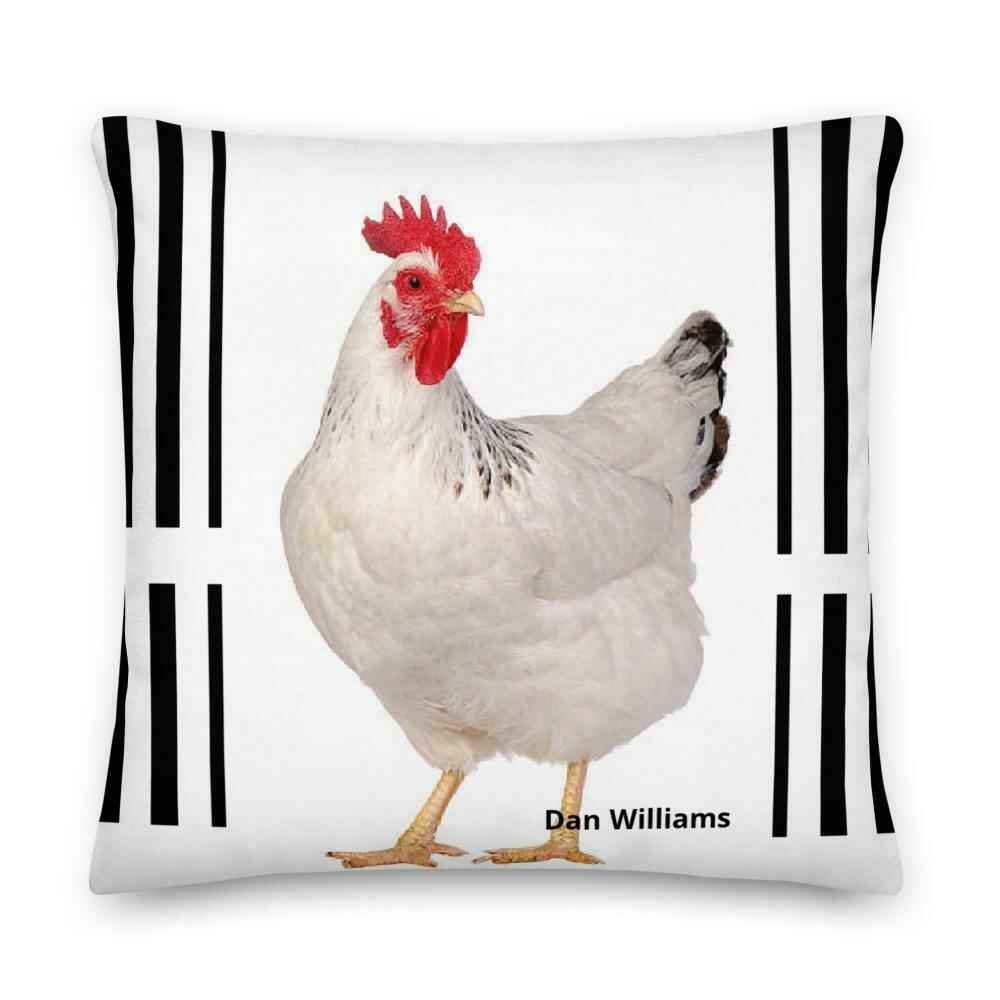 Chicken Coop Premium Pillow