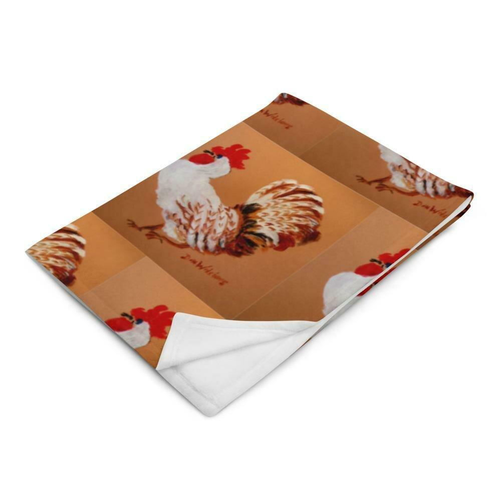 Chicken Throw Blanket