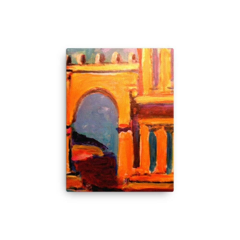 Florence Palazzo Canvas Print