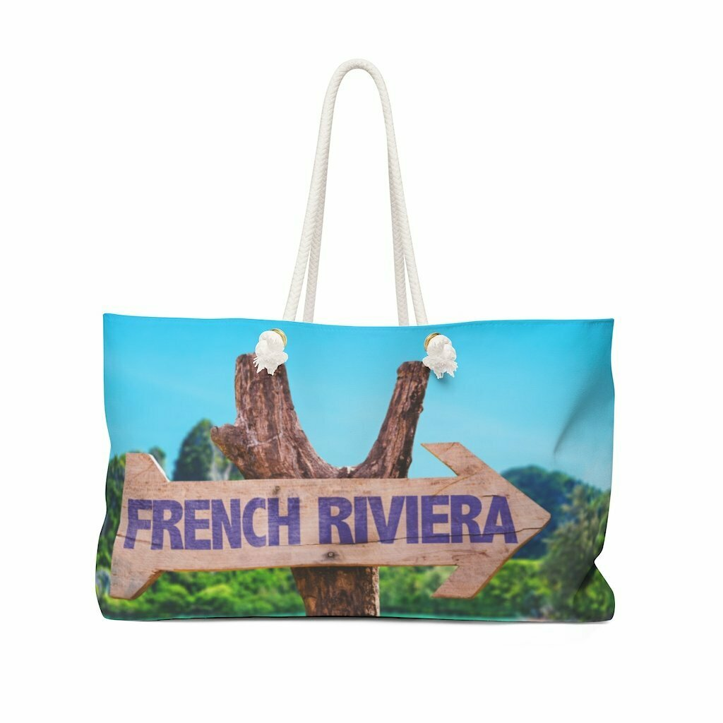 French Riviera Weekender Bag