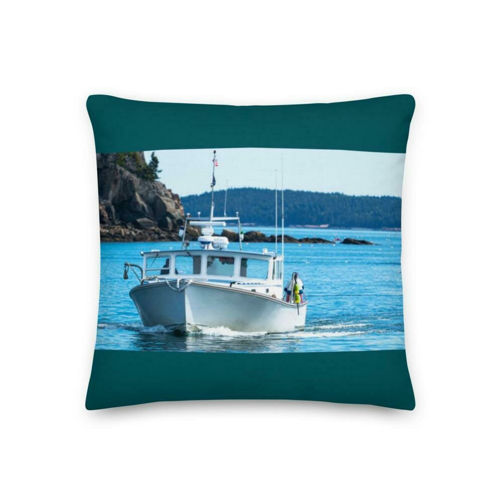 Life on the water Premium Pillow