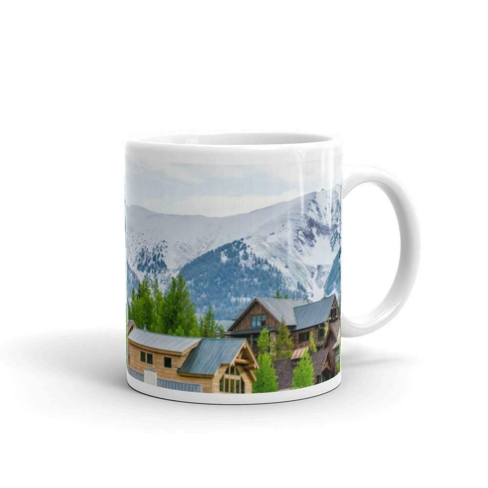 Mountain Skiing Village