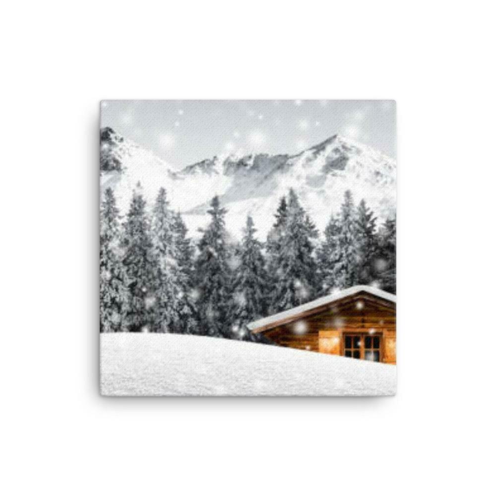 Mountain Snow Canvas