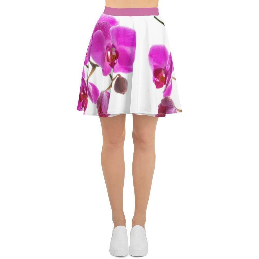 Orchid Skater Skirt