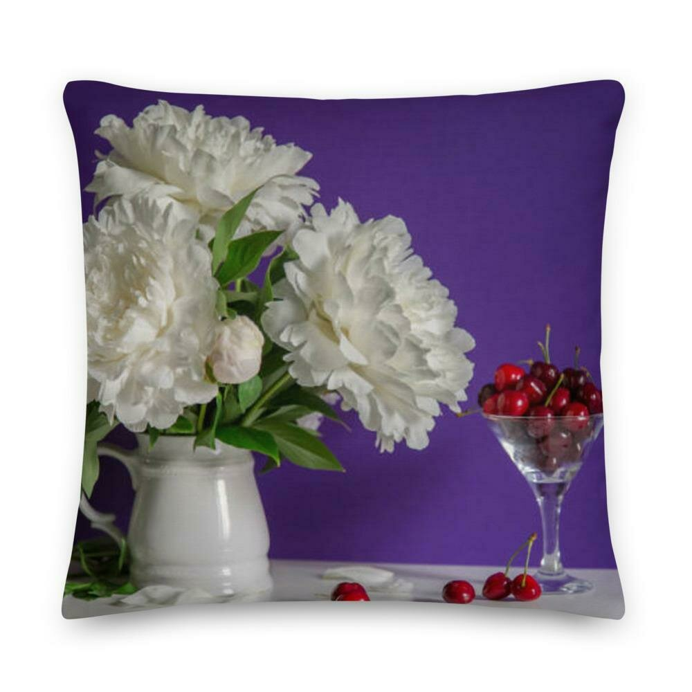 Palace bedroom lace flower pillow