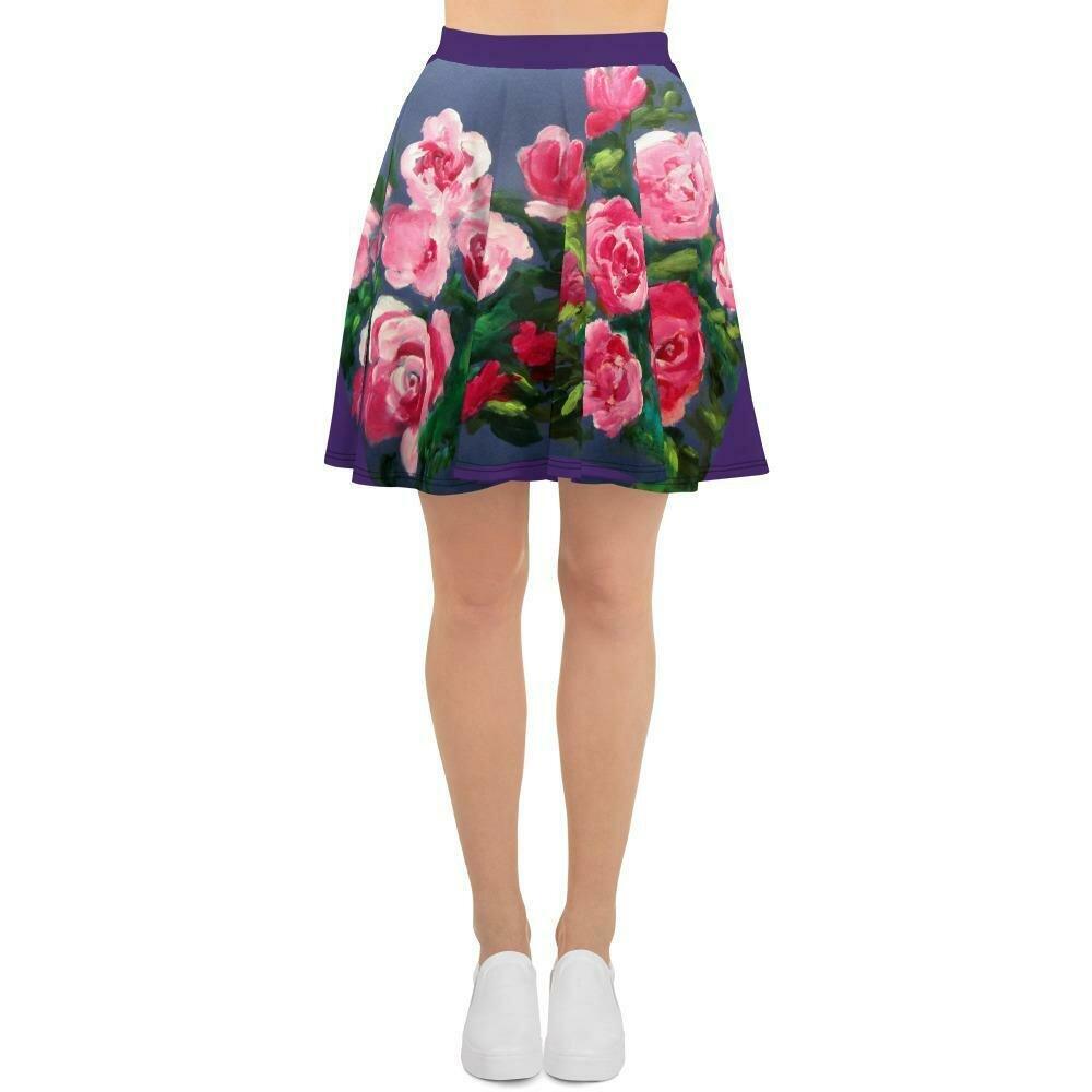 Palace Dress series:  Rambling Rose Skater Skirt