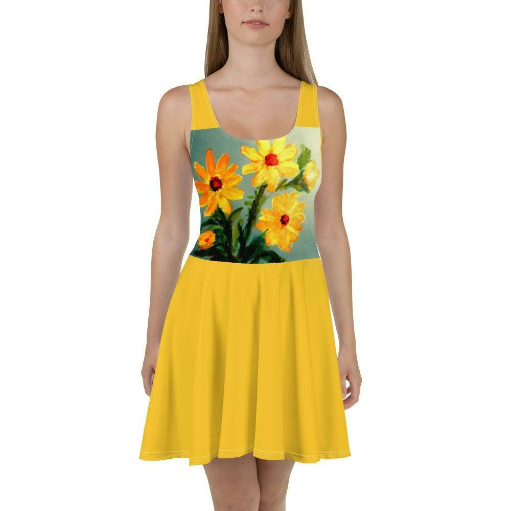 Palace Dress: Mediterranean Sunflower