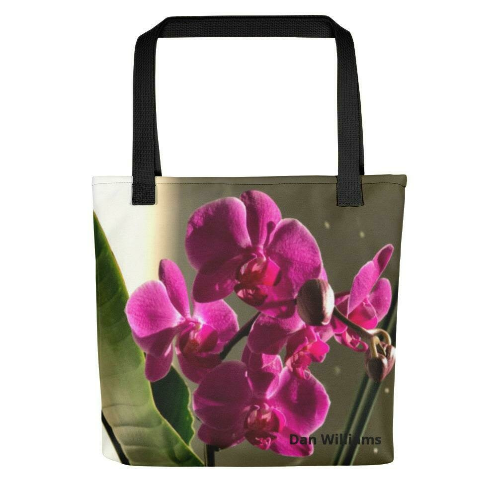 Palace Orchid Tote Bag