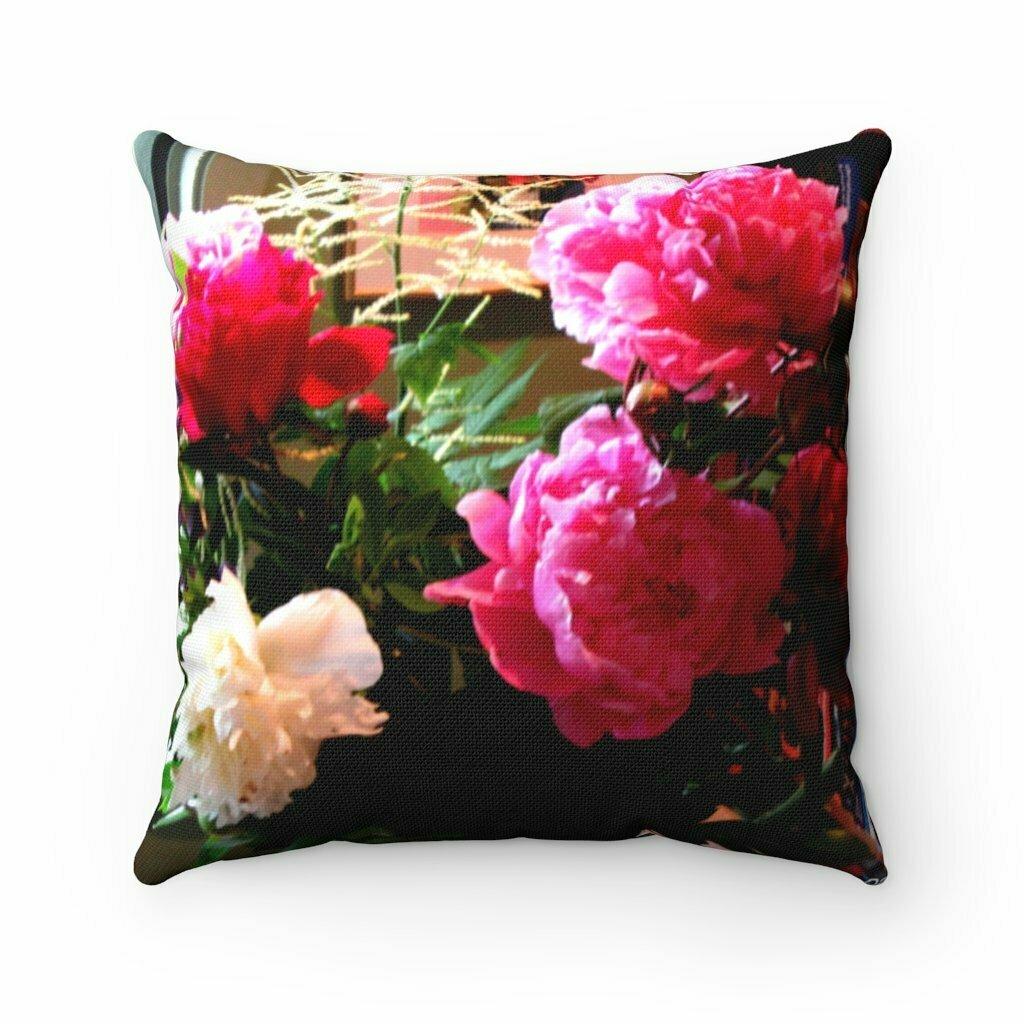 Pillow Decorator  Spun Polyester Square Pillow