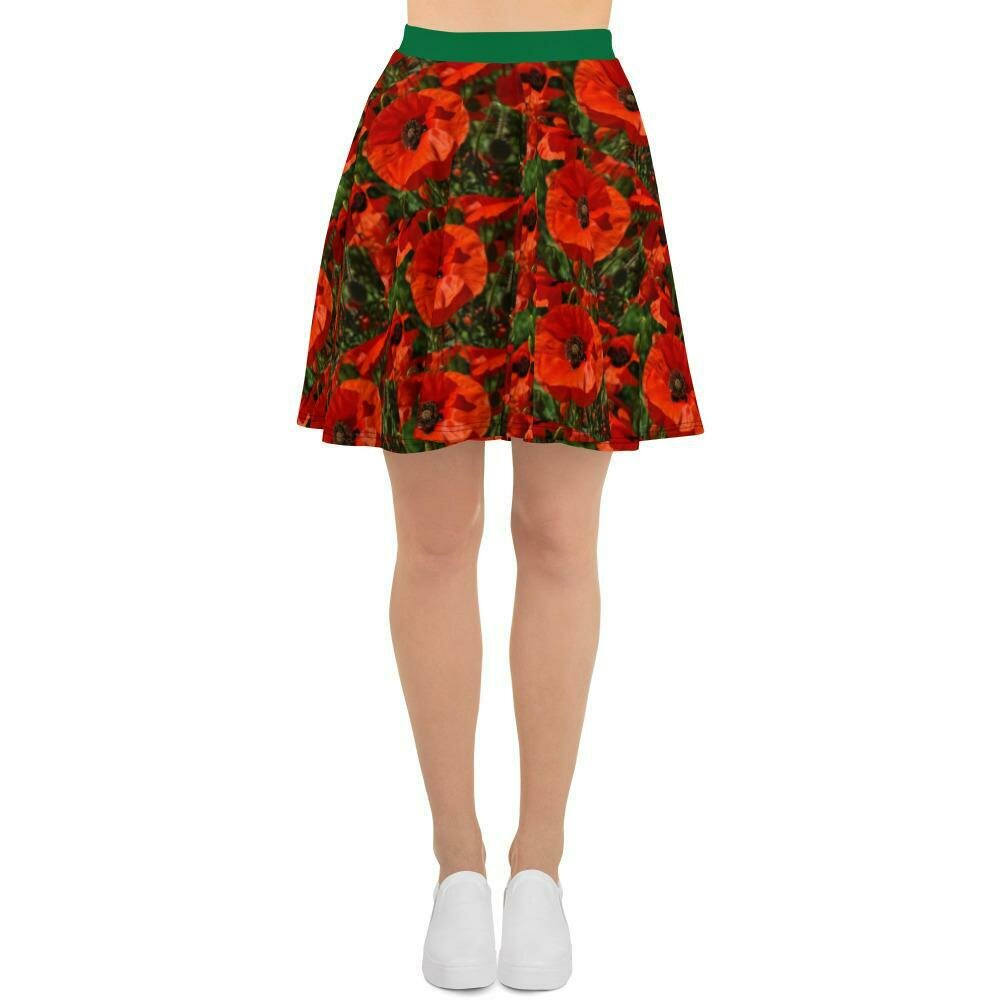 Poppies a Propo Skirt