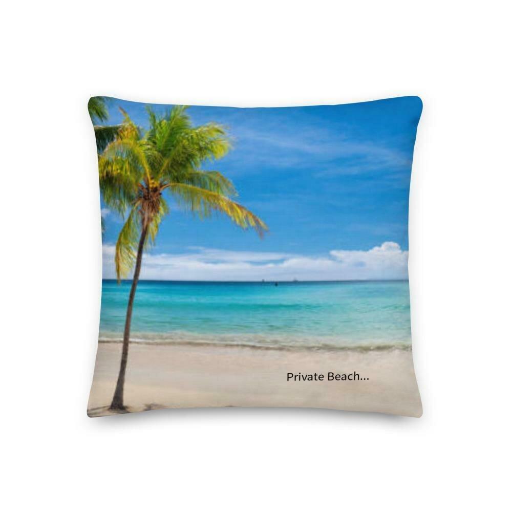 Private Beach Premium Pillow