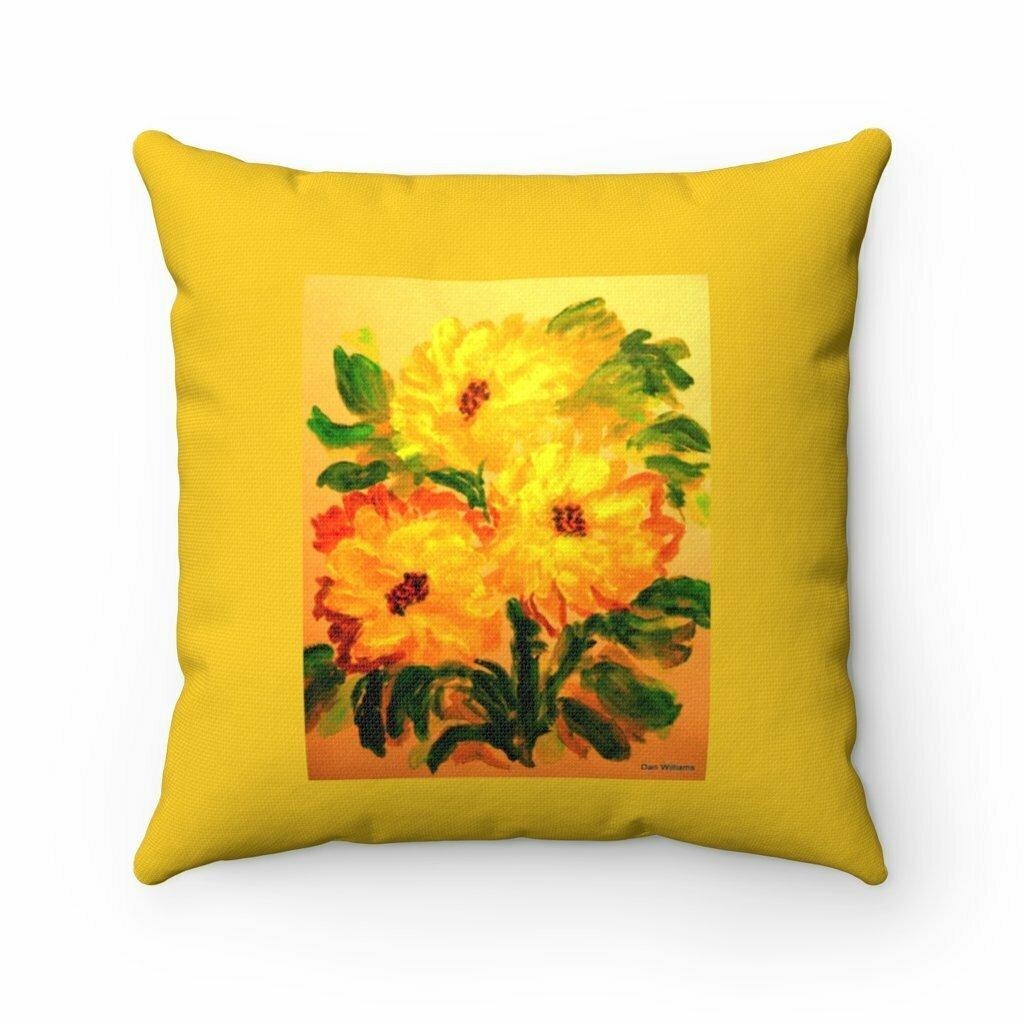 Provence Sun Flower Pillow