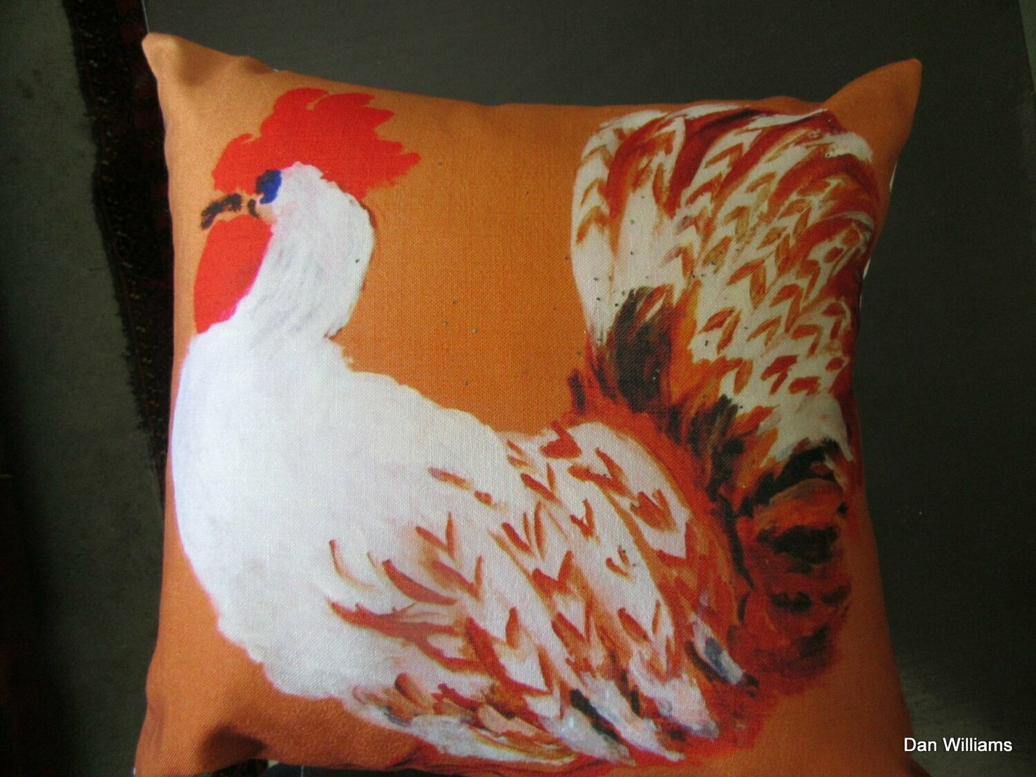 Roosters Strutting on Parade