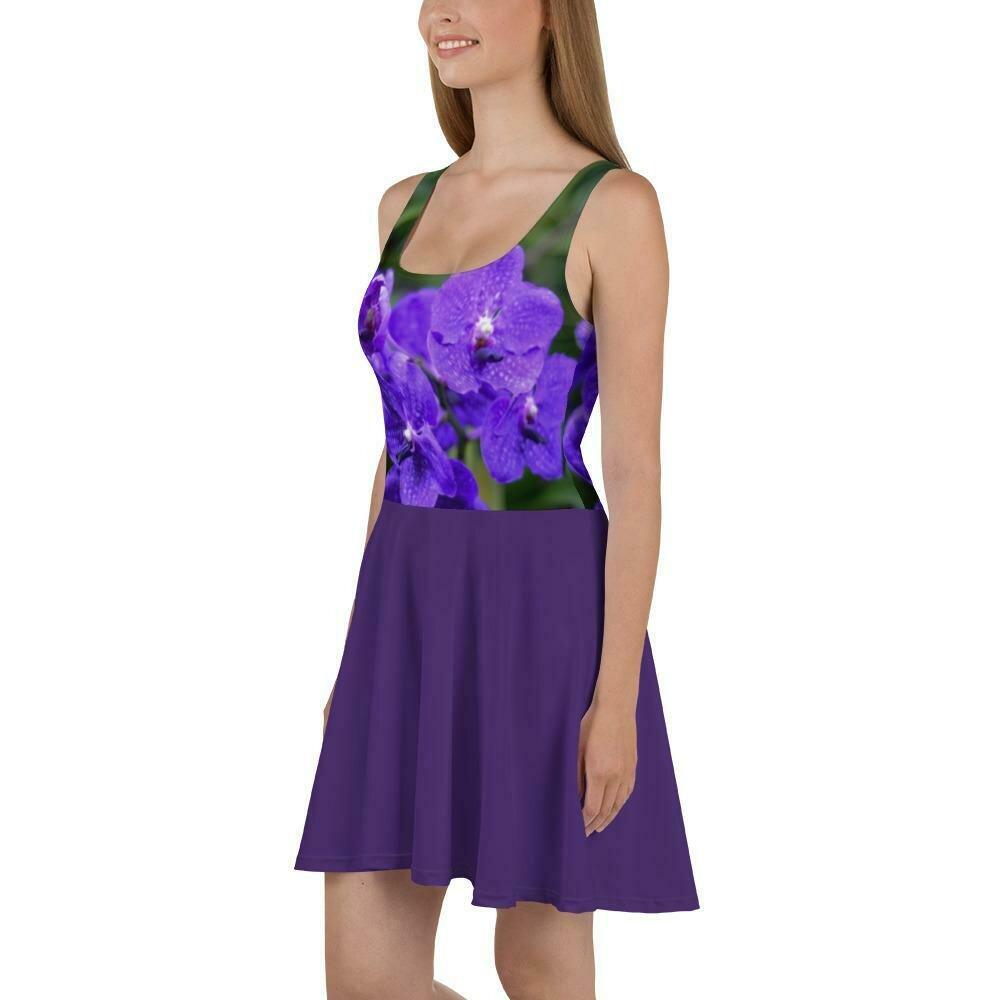 Royal Violet Dress