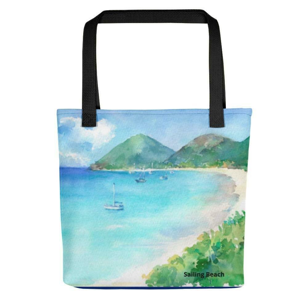 Sailing Beach Tote bag