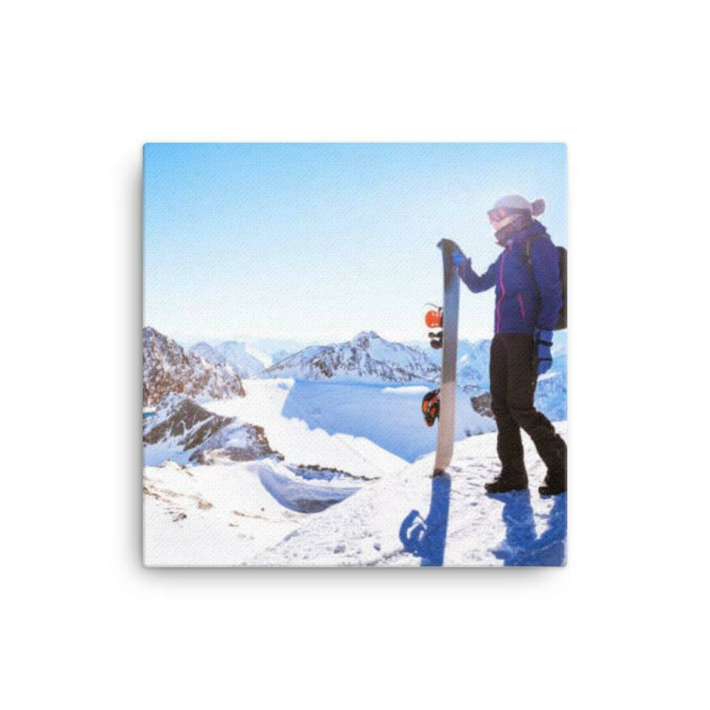 Ski New York Canvas