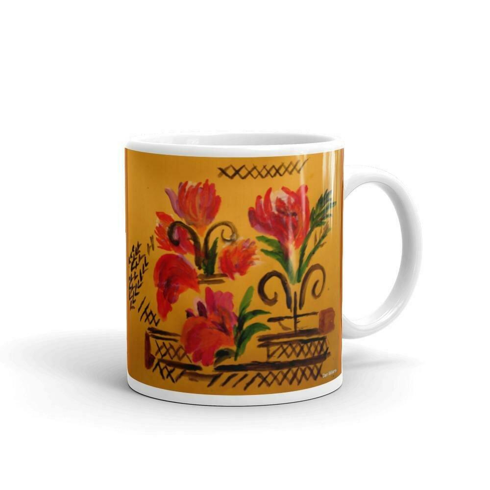 Terra Cotta Bamboo Mug