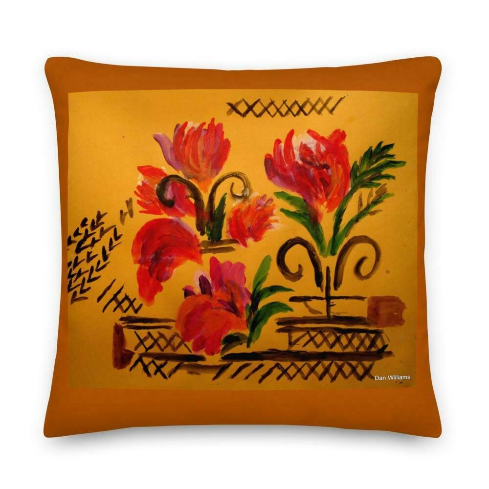 Terra Cotta Premium Pillow