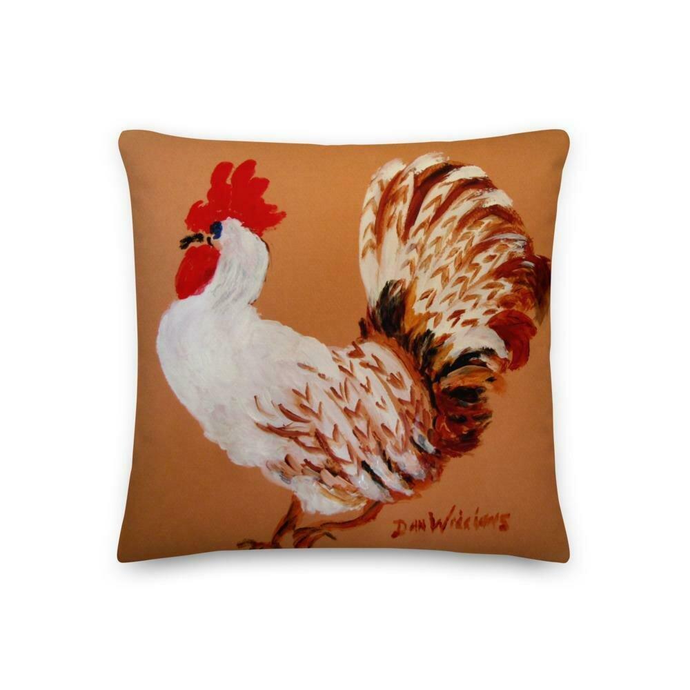 The Earl of Kittridge Rooster Premium Pillow