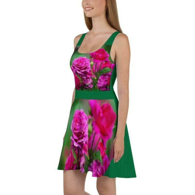 Royal beauty rose dress