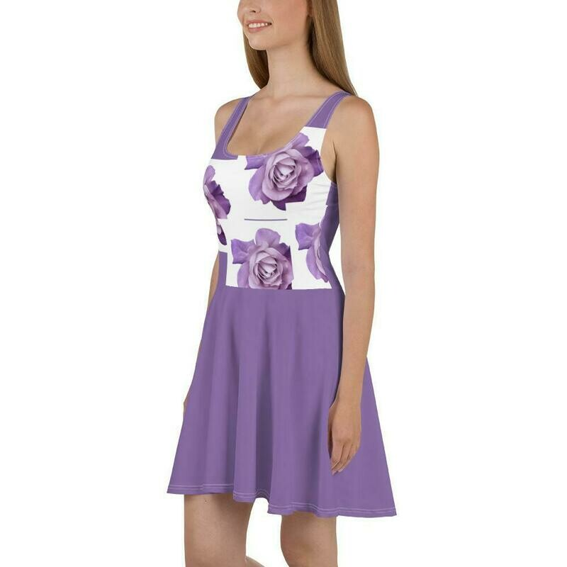 Purple Rose Dress